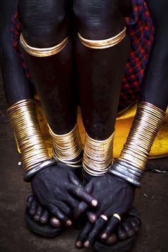 Africa | Bodi adornments, Omo Valley, Ethiopia | ©Steven Goethals
