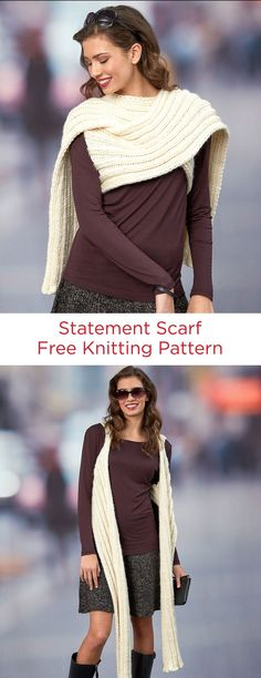 Statement Scarf Free