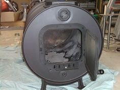 WOOD HEATER POT BELLY FIRE DIY KIT, 44 GALLON DRUM, SHED GARAGE BARREL STOVE   eBay Barrel Stove, Wood Burning Heaters, Cherry Valley, Metal Barrel, Man Of The House, Emergency Preparation, Fire Places, Garage Ideas, Stoves