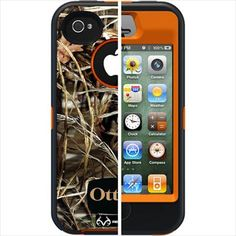 Otterbox APL2-I4SUN-H3-E4RT1 Defender Realtree Series Hybrid Case & Holster for iPhone 4 & 4S