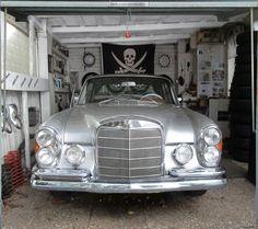 Fotoplane für Garagentor Mercedes S280/ Garage Mural Mercedes S280