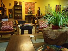 Many beautiful and unique home accents  & furniture from Indonesia at our gallery. Visit us online at GadoGado.com
