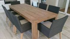 Image result for large wood dining table