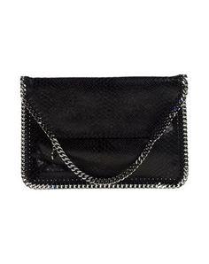 STELLA MCCARTNEY Handbag. #stellamccartney #bags #leather #clutch #hand bags