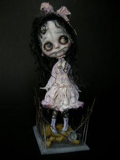 a sweet little zombie girl from Julien Martinez