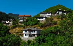 A village in Rhodope Mountains, Bulgaria