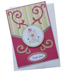 Handmade Thank Ewe Card £2.00