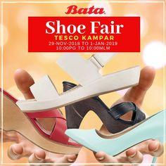 28 Nov 2018-1 Jan 2019  Bata Shoe Fair Warehouse Sale at Tesco Kampar fc864262d2