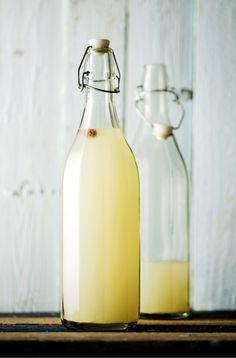Sitruunanraikas ginger beer - Soppa 365 Cheesecake, Ginger Beer, Fodmap, Lemonade, Smoothies, Water Bottle, Drinks, Happy Life, Favorite Recipes