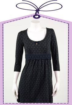 nightdress in dark blue made by Vive Maria online available at www.pyjama-und-co.com