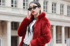 Red Fur at Palais Royal