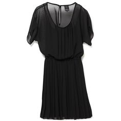 Ella Moss Short Sleeve Chiffon Dress