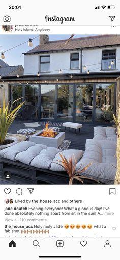 Glorious Days, Outdoor Furniture, Outdoor Decor, Home Improvement, Doors, Island, Mansions, House Styles, Garden
