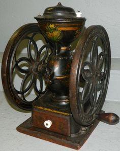 Beautiful small coffee grinder.