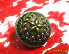 Set 10 Brass Tone Star and Straw Domed Ornate Shank Buttons. Brass Color, Silver Color, Star Buttons, Shank Button, Antique Brass, Stars, Antiques, Metal, Free
