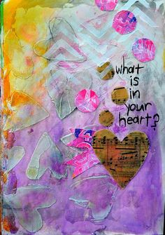 What is in your heart? ❤