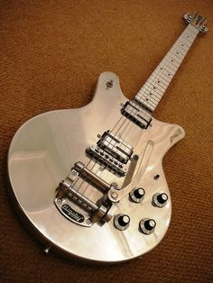 EGC Aluminium Guitar with Lace Alumitones - King Buzzo plays this. So it must be dirty.