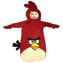 Angry Birds Red Bird Halloween Costume - Infant Size Birth - 9 months