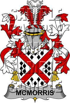 McMorris Family Crest apparel, McMorris Coat of Arms gifts