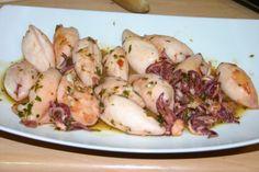 Inktvissen in groene saus - Masito cuisine