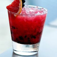Tequila bramble — all that and it's under 200 calories.