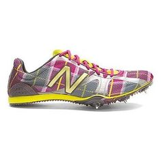 New! NEW BALANCE WR800 Track Spikes Women's Size 5 Shoes MULTI PLAID Trainers