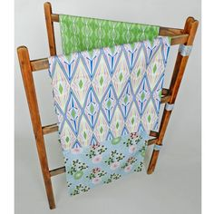 Patterned tea towels by AnnabelPerrin on Etsy