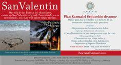 """""""Plan #Karmairi seducción de amor"""" #SanValentín (Aplica condiciones y restricciones, valido previa disponibilidad)"""