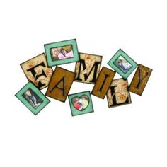 Family Metal Wall Photo Frame from Teebee's Online Store for $59.95