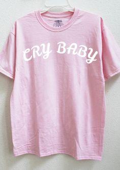 Cry Baby Tee(plus size friendly) by  wildblacksheep