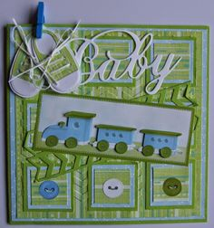 Suzanna: Baby Kids Cards, Baby Cards, Baby Scrapbook Pages, Diy And Crafts, Paper Crafts, Marianne Design, Welcome Baby, Stampin Up Cards, Mini Albums