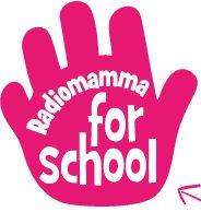 """Un """"cinque"""", un aiuto, un….è il loghino di un progetto che aiuta i genitori volontari delle scuole di Milano www.radiomamma.it/scuola"""