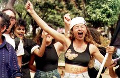 Women call for the impeachment of Brazilian President Fernando Collor de Mello during an anti-Collor student demonstration in the suburb of Taquatinga, Brazil 20 km from Brasilia 25 August. A congressional report released 24 August 1992 charged Collor with widespread corruption