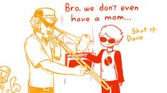 When Mom isn't home…