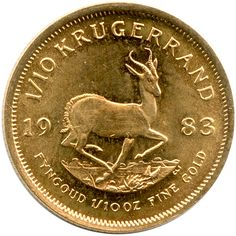 South Africa Krugerrand Gold Tenth Ounce Date Our Choice - Secondary Market Old Coins Worth Money, Coin Worth, Local Hero, My Roots, Silver Eagles, World Coins, African History, Coin Collecting, Gifts For Family
