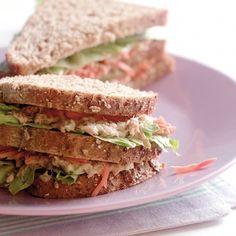 Sandwich met Tonijn en bleekselderij-www.visopzijnbest.nl