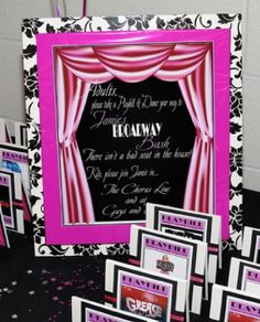 Bat Mitzvah | Whimzey Events | Broadway Theme Party