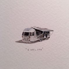 Day 108 : The Grand Daddy Hotel in Long street is famous for its Airstream Rooftop Trailer Park. 21 x 14 mm.