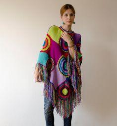 Plus tamaño de la ropa Poncho cabo de las mujeres por subrosa123