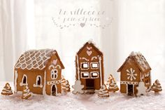 #food #xmas making THE GINGERBREAD HOUSE - free pattern -Maisons en pain d'épices