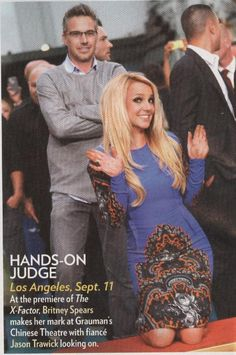 Britney & Jason in People Magazine