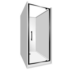 Features Low profile tray with 40mm upstand Tray is Rear Centre Waste. One piece acrylic lining. 1950mm high glass. 6mm safety glass. 2 Panel Sliding Door  Reversible – can open left to right or right to left. High quality hardware Available in White and Silva