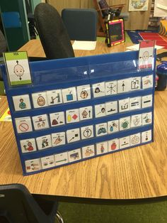 40 Core Vocabulary words from DLM. My Classroom finally has something.