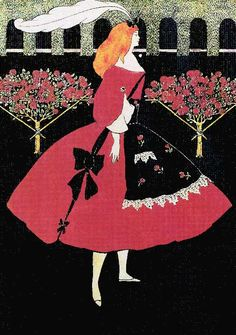 Cinderella's Slippers by Aubrey Beardsley