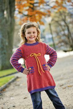 1001: Modell 20 Tunika #strikk #knit #sisu