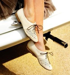 The Simply Luxurious Life®: Style Inspiration: Shoes and Stripes