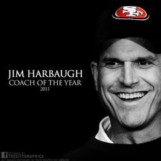 jim harbaugh | Jim Harbaugh. | San Francisco 49ers NFL Great coach! love him and hate to see him go!