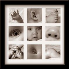 Focus on the little details of a baby and make a framed photo collage. Baby Fotoideen This image has get. Newborn Pictures, Baby Pictures, Newborn Pics, Baby Newborn, New Baby Photos, Foto Fun, Baby Boy, Mama Baby, Baby Girls