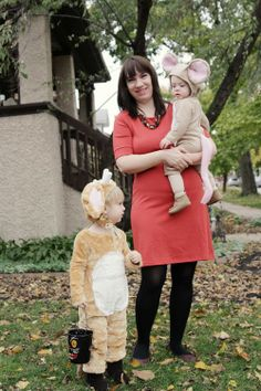 The Gruffalo's Child and the Big Bad Mouse Handmade DIY Halloween Costumes
