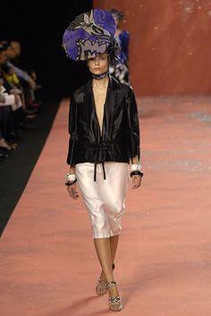 Christian Lacroix Spring 2008 Ready-to-Wear Fashion Show - Natasha Poly (Women)
